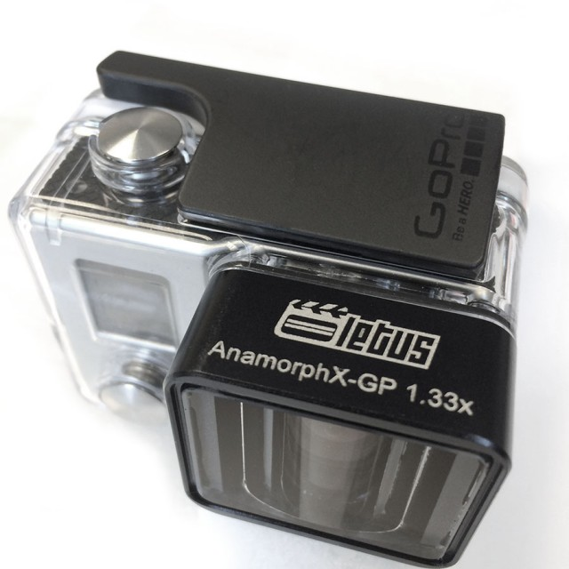 Letus AnamorphX Adapter for GoPro Hero 3+