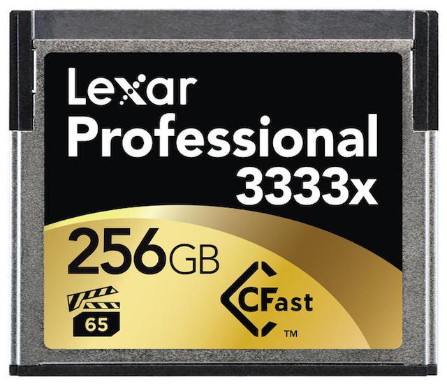 Lexar Pro CFast Memory Card