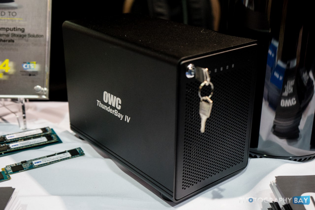 OWC Thunderbolt at CES 2014-11
