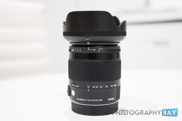Sigma 18-200mm Lens at CES 2014
