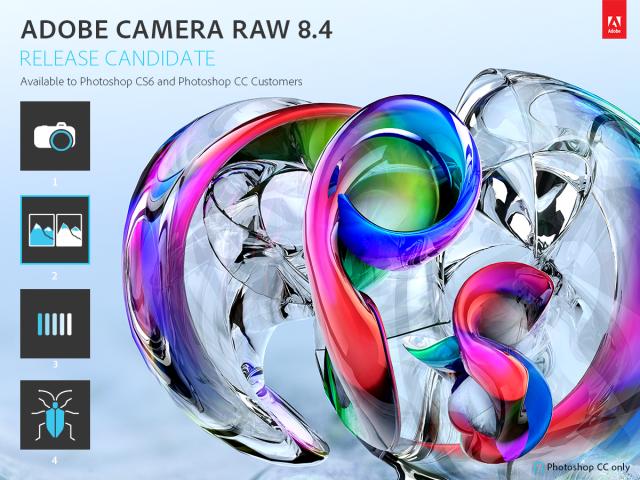 Camera Raw 8.4