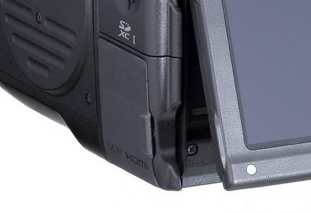 Canon 645D 2014 HDMI Port