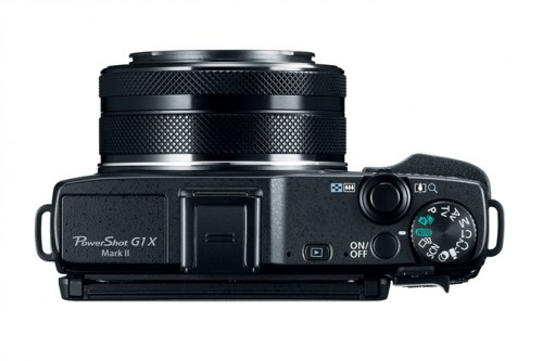 Canon PowerShot G1 X Mark II Top