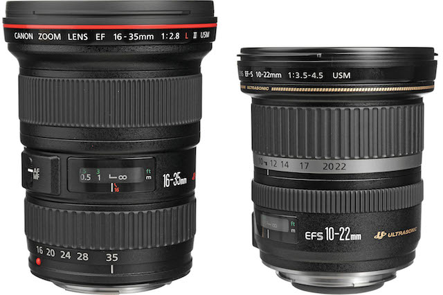 EF vs EF-S Lens Comparison