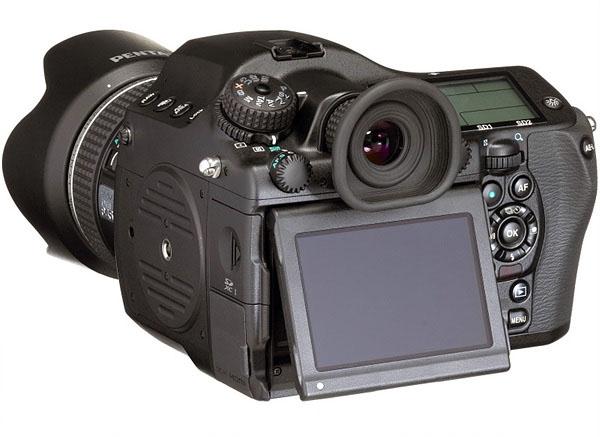 Pentax 645D II LCD