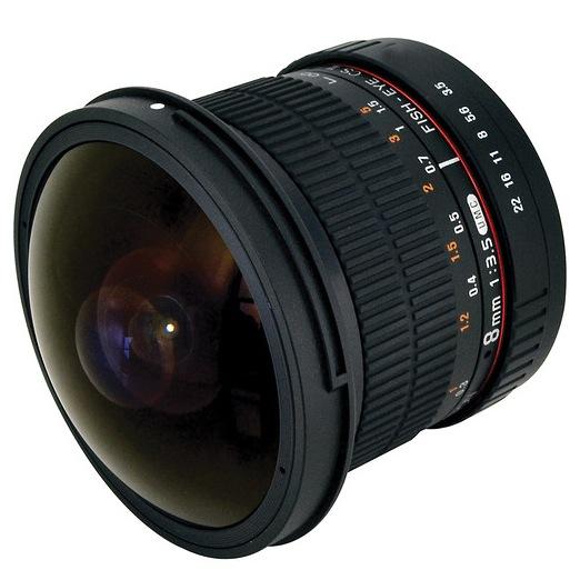 Rokinon 8mm Fisheye Lens for Canon