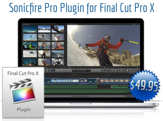 Sonicfire Pro Plugin for FCP X