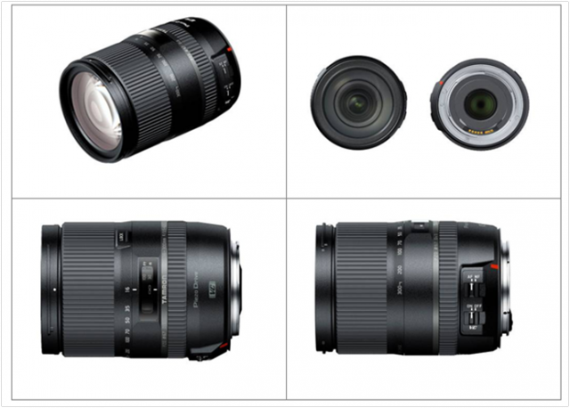 Tamron 16-300mm Lens 2014 Model Views