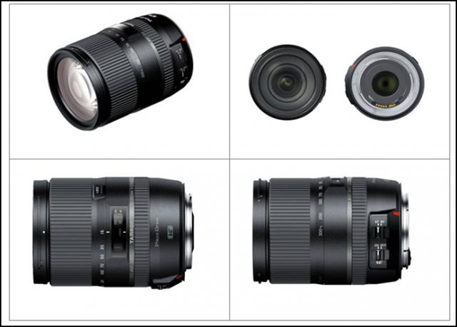 Tamron 16-300mm Lens 2014 Model Views