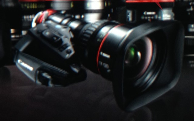 Canon Servo Zoom Lens Close Up