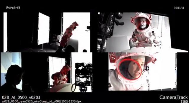 Gravity via 'Art of VFX'