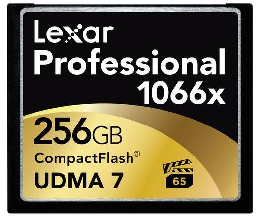 Lexar Professional 1066x 256GB CF Card