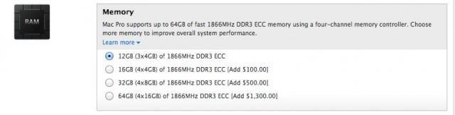 Mac Pro Apple RAM