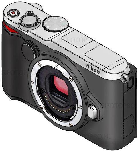 Nikon-1-camera-patent-design