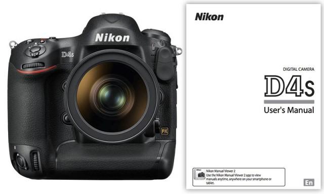 Nikon D4s User Manual
