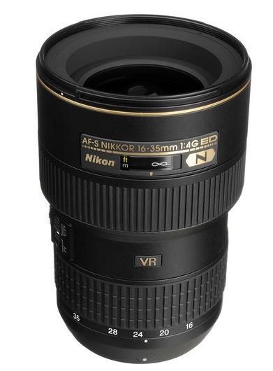 Nkon 16-35mm f4 VR