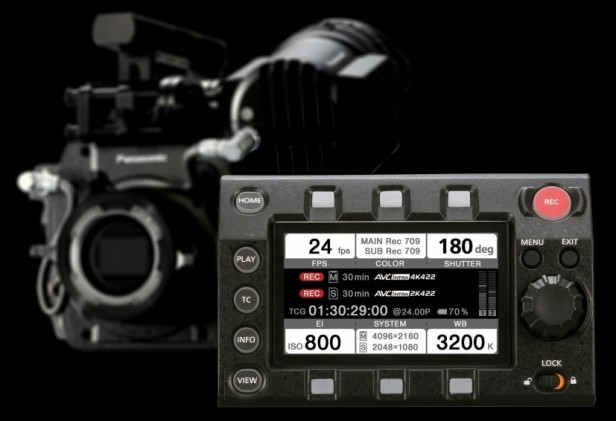 Panasonic-VariCam-35-Removable-Control-Panel
