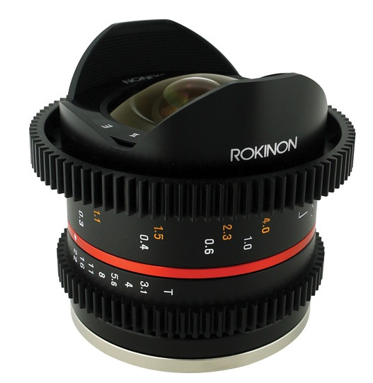 Samyang 8mm T3.1 Fish-Eye II