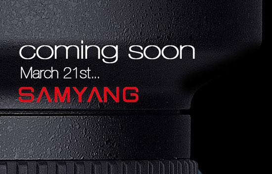 Samyang Lens Teaser