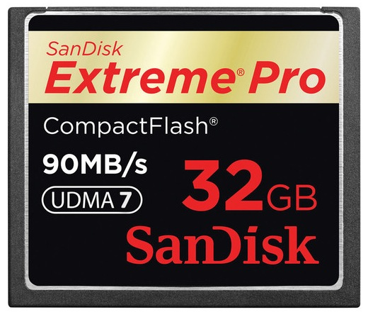 SanDisk 32GB CF Card