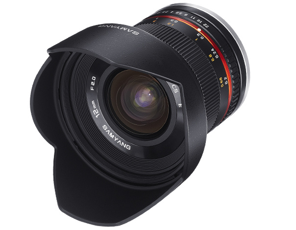 samyang opitcs-12mm-F2.0-camera lenses-photo lenses-product