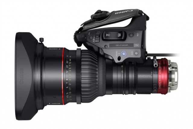 Canon Cine-Servo 17-120mm T2.95 Lens Top