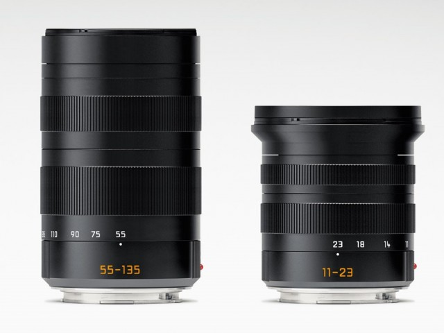 Leica T 11-23 and 55-135 lenses