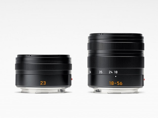 Leica T 18-56 and 23 lenses