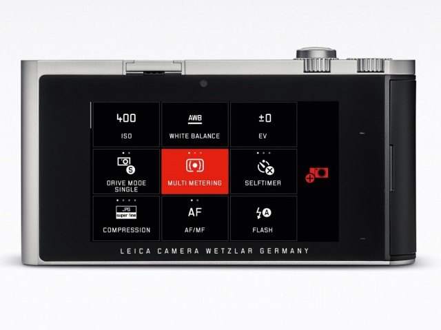 Leica T back
