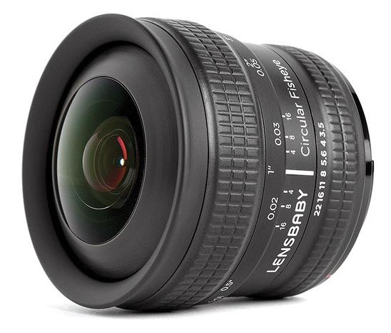 Lensbaby 5.8mm f3.5 Circular Fisheye Lens
