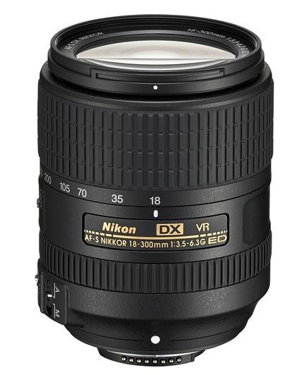 Nikon AF-S 18-300mm ED VR Lens