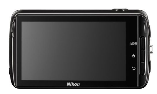 Nikon Coolpix S810c Back