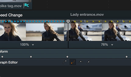 Optical Flow Retiming in DaVinci Resolve 11