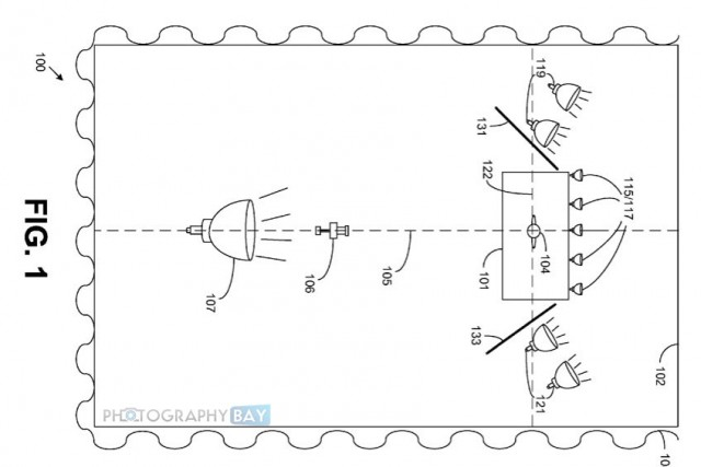 Amazon Patent Seamless White Background Overhead copy