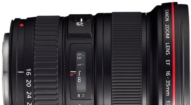 Canon EF 16-35mm Lens Rumor
