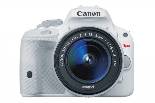Canon SL1 White front