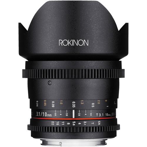 Rokinon 10mm Cine Lens