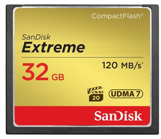 SanDisk 32GB Extreme CF
