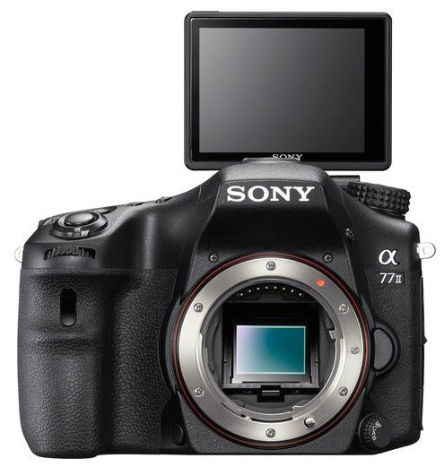 Sony A77 II LCD