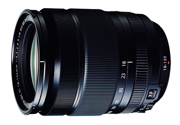 Fuji WR_XF18-135mm_Black_Front