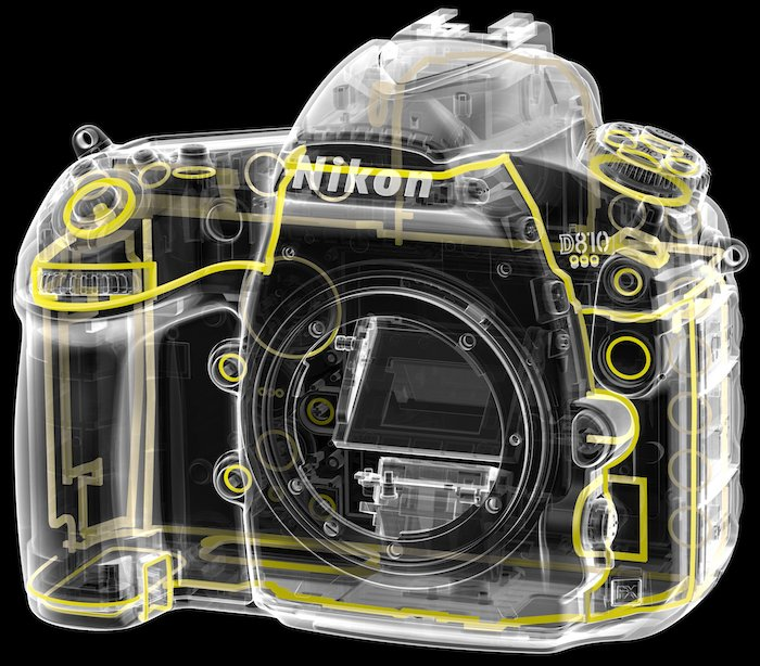 Nikon D810 Dust Sealing