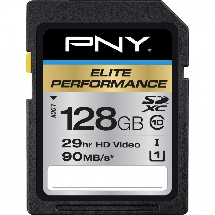 PNY 128GB Elite SDXC