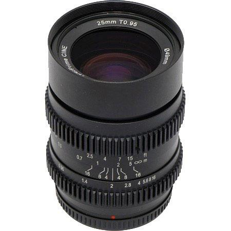 SLR Magic 25mm T0.95 Hyperprime lens