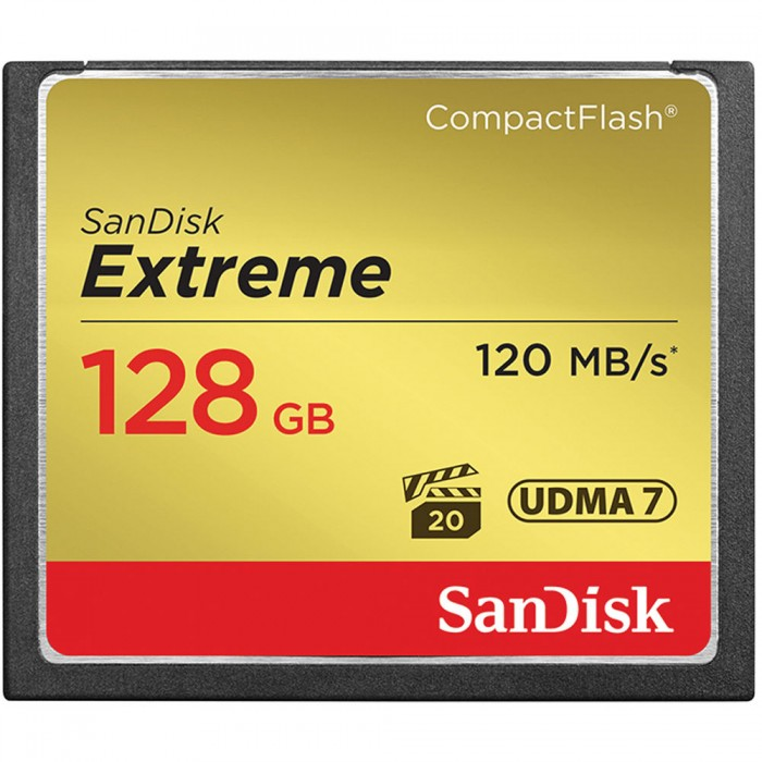 SanDisk Extreme 128GB CF Card