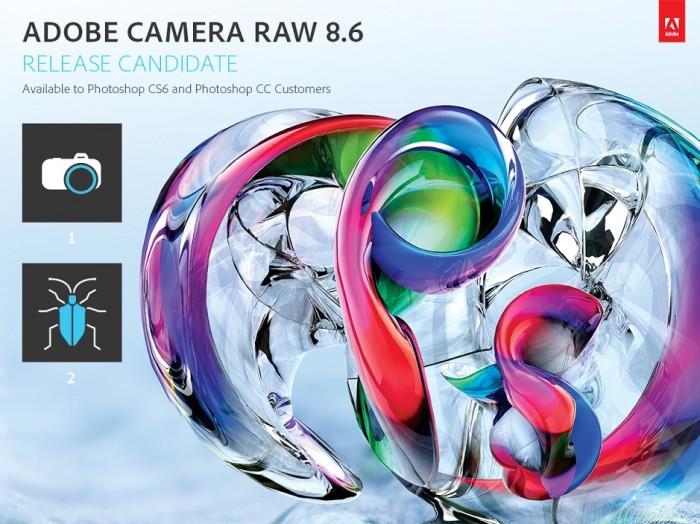 Adobe Camera Raw 8.6