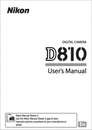 D810 Users Manual