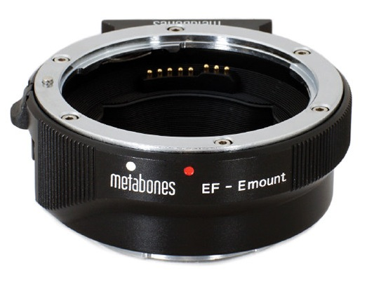 Metabones Canon EF Lens to Sony E-Mount Camera Adapter Mark IV