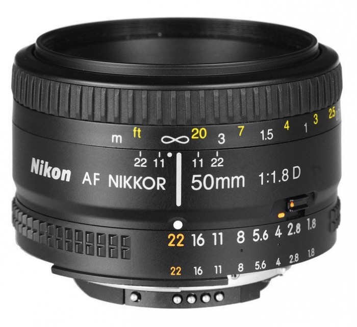 Nikon 50mm F1.8D Lens