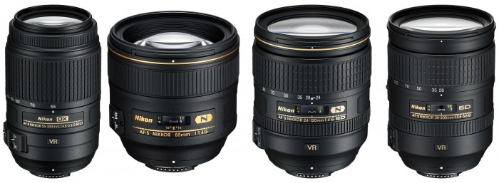what is the difference between nikon dx and fx lenses
