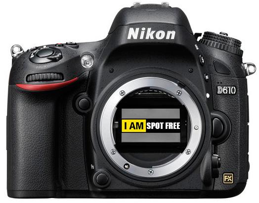 Nikon-D610-spot-free